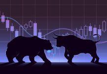 Byk i niedźwiedź jako symbole różnych rodzajów sentymentu rynku forex